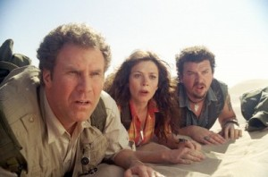 George W. makes a post-presidential cameo with Anna Friel and Danny McBride.