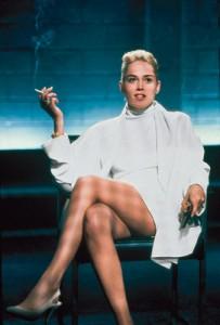 Sharon Stone's netherregions sexy? Eh, not so much.