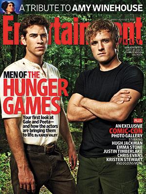 Entertainment Weekly revealed their recent cover of Peeta (Josh Hutcherson) ...